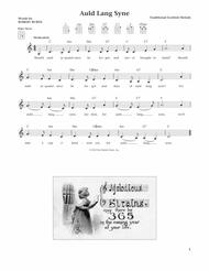 Auld Lang Syne (from The Daily Ukulele) (arr. Liz and Jim Beloff)