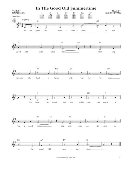 In The Good Old Summertime (from The Daily Ukulele) (arr. Liz and Jim Beloff)