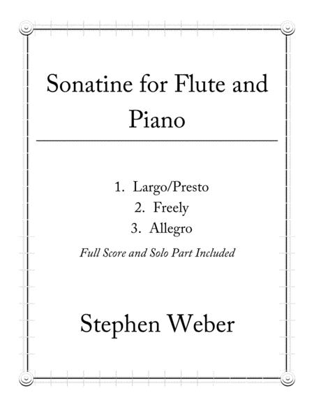 Sonatine for Flute and Piano