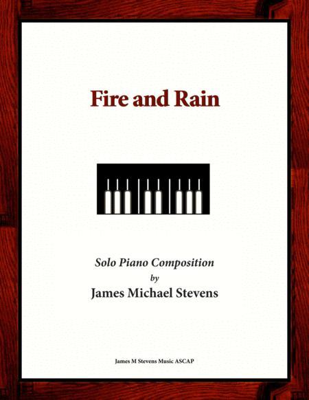 Fire and Rain (Original Piano Composition)