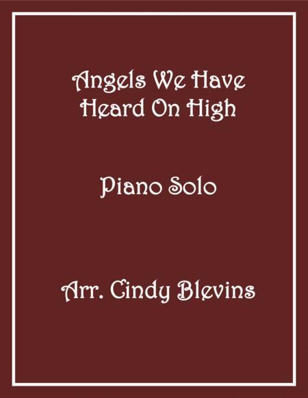 Angels We Have Heard On High, Piano Solo, from my book