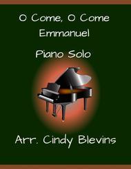 O Come, O Come Emmanuel, Piano Solo, from my book