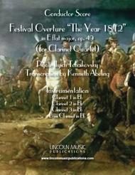1812 Overture (for Clarinet Quartet)