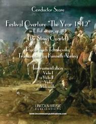 1812 Overture (for String Quartet)