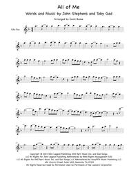 all of me john legend satb pdf