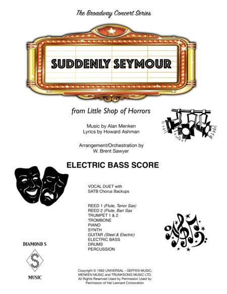 Suddenly Seymour - ELECTRIC BASS Part