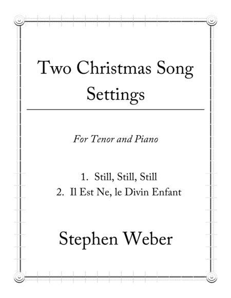 Two Christmas Song Settings for Tenor and Piano