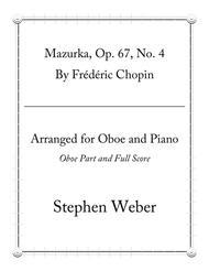 Chopin Mazurka, Op.67, No. 4