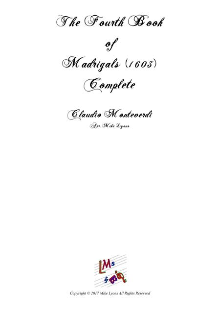 Monteverdi - The Fourth Book of Madrigals (Complete)