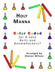 Holy Manna for 8-note Bells and Boomwhackers® (with Color Coded Notes)