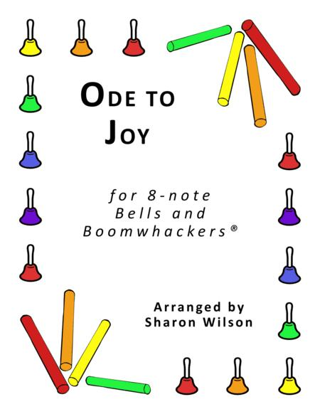 Ode to Joy for 8-note Bells and Boomwhackers® (with Black and White Notes)