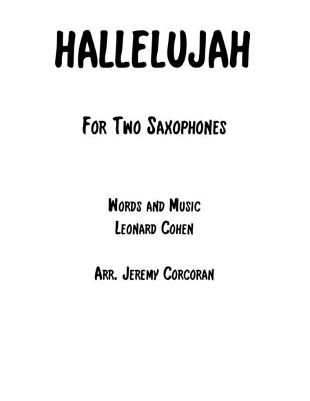 Hallelujah for Two Saxophones