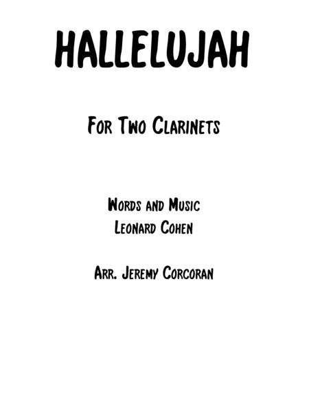 Hallelujah for Two Clarinets