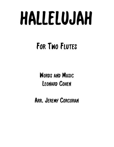 Hallelujah for Two Flutes