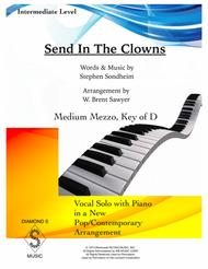 Send In The Clowns - Medium Mezzo, Key of D
