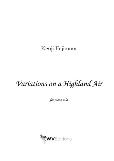 Variations on a Highland Air for solo piano