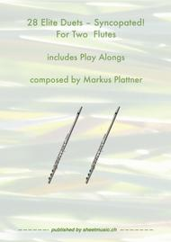 28 Elite Duets - Syncopated - for 2 Flutes