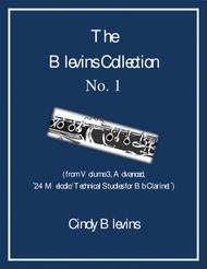 Advanced Clarinet Study, # 1, from The Blevins Collection, Melodic/Technical Studies for Bb Clarinet