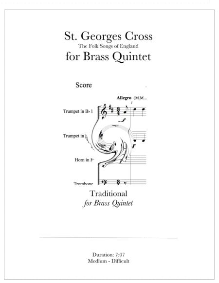 St. George's Cross - The Folk Songs of England