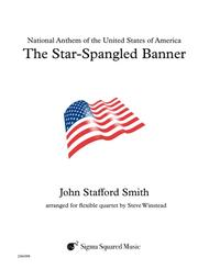 The Star-Spangled Banner for Flexible Instrumentation Quartet