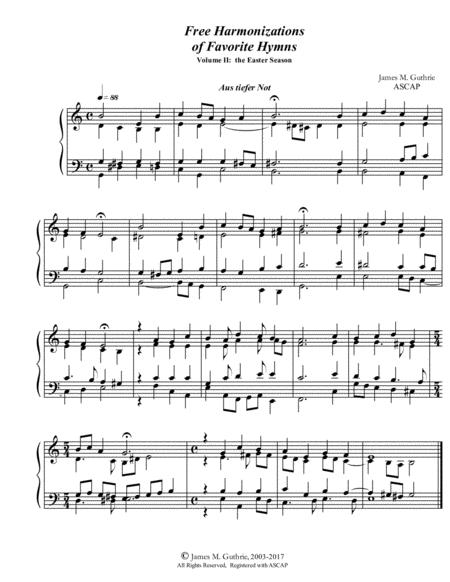 Guthrie: Harmonizations Vol. 4 - The Easter Season