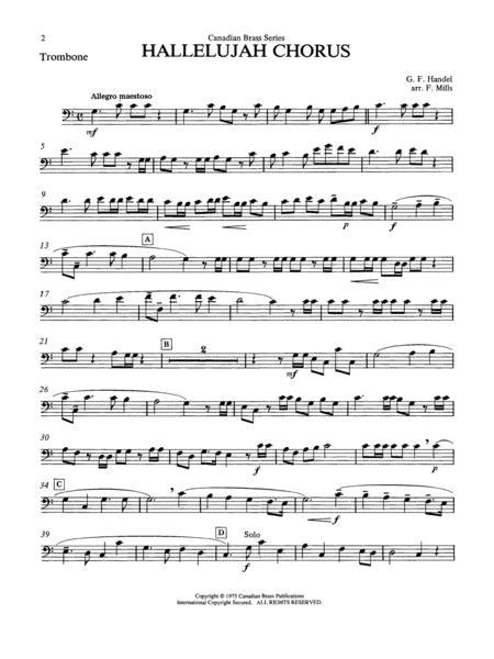 Hallelujah Chorus - Trombone Sheet Music