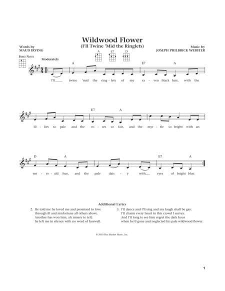 Wildwood Flower (from The Daily Ukulele) (arr. Liz and Jim Beloff)