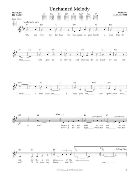 Unchained Melody (from The Daily Ukulele) (arr. Liz and Jim Beloff)