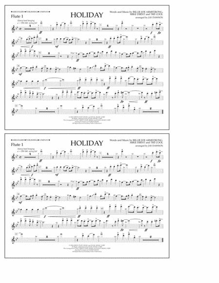Holiday - Flute 1