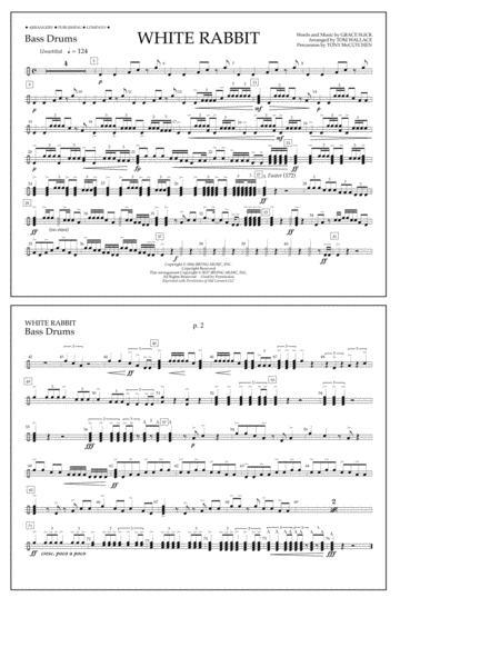 White Rabbit - Bass Drums