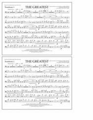 The Greatest - Trombone 1