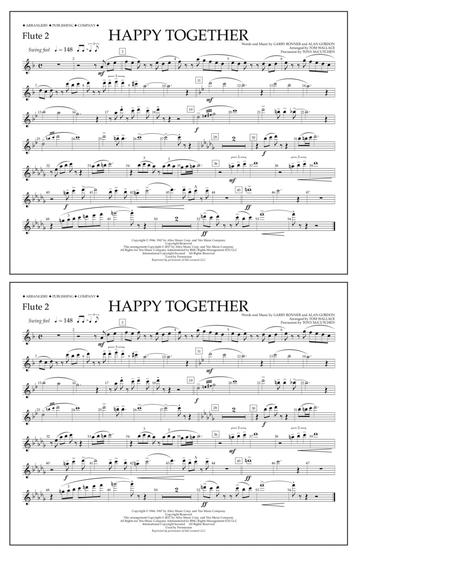 Happy Together - Flute 2