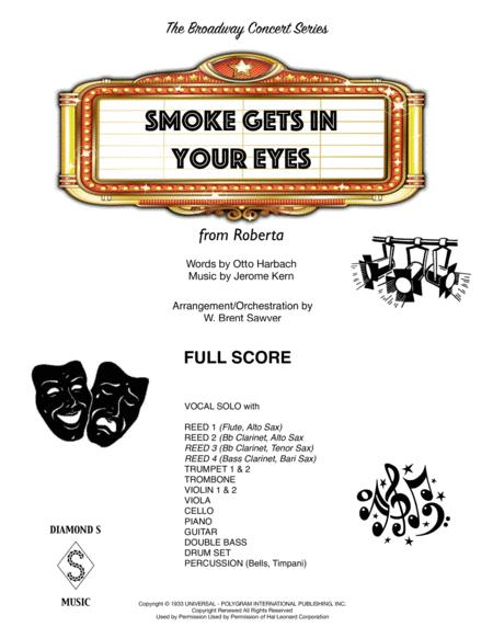 Smoke Gets In Your Eyes - FULL SCORE