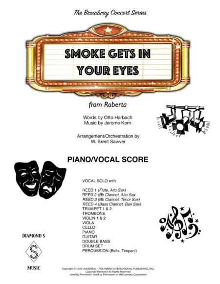 Smoke Gets In Your Eyes - PIANO/VOCAL SCORE