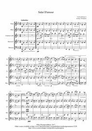 Elgar: Salut D'Amour - wind quintet