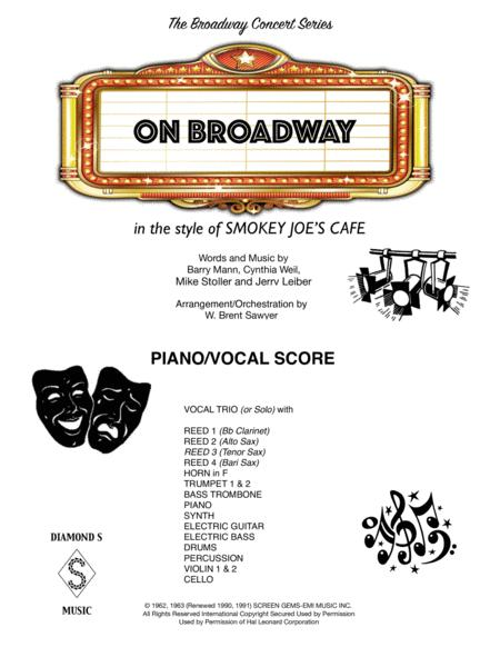 On Broadway - PIANO/VOCAL SCORE