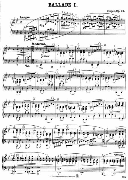 F.Chopin-Ballade No.1 in G minor, Op.23