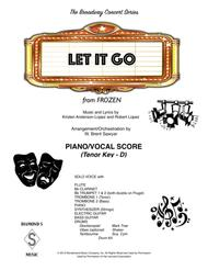Let It Go (from Frozen) for TENOR voice - PIANO/VOCAL SCORE