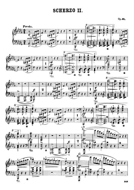F.Chopin-Scherzo No.2 in B-flat minor, Op.31