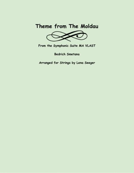 Theme from the Moldau (two violins and cello)