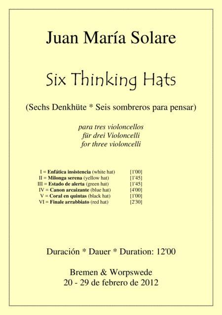 Six Thinking Hats [3 celli]