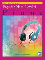 Alfred's Basic Piano Library Popular Hits, Book 4