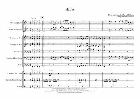 Happy - Brass & Sax Ensemble