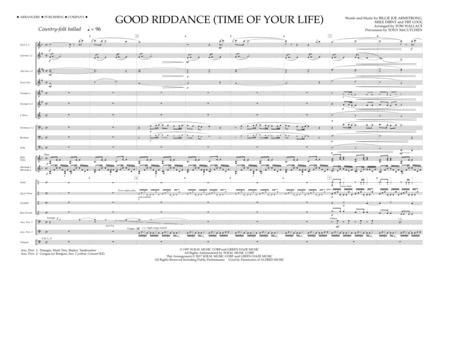 Good Riddance (Time of Your Life) - Full Score