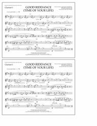 Good Riddance (Time of Your Life) - Clarinet 1
