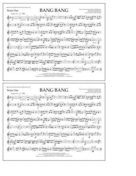 Bang Bang - Tenor Sax