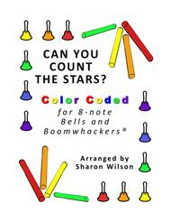 Can You Count the Stars? for 8-note Bells and Boomwhackers® (with Color Coded Notes)