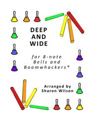 Deep and Wide for 8-note Bells and Boomwhackers® (with Black and White Notes)
