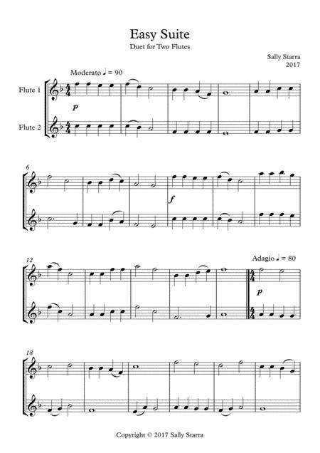 Easy Suite - Flute Duet