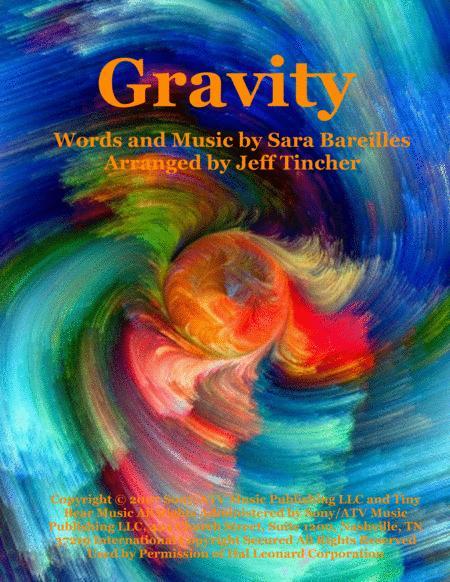 Download Gravity Sheet Music By Sara Bareilles Sheet Music Plus